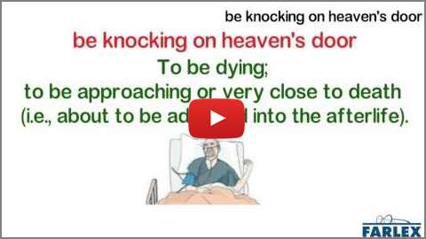 Knockin on heavens door idioms by the free dictionary fandeluxe Ebook collections